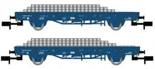 Arnold HN6401 N Gauge NS Railpro Flat Wagon with Load Set (2)